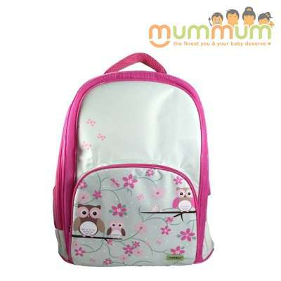 Bobble Art Large Size School backpack --owl