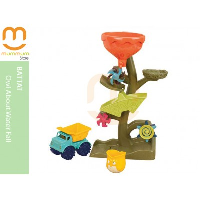 Battat Owl About Waterfalls Fun Beach Play Set
