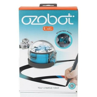 Ozobot Bit Starter Pack Blue with 4pc markers Coding Game Toy 6+( pre-order)