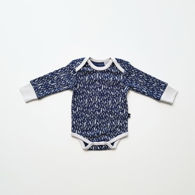 Anarkid Bodysuit Long Sleeve Ink Navy