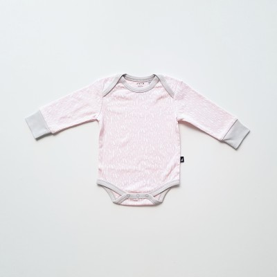 Anarkid Bodysuit Long Sleeve Ice Pink