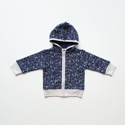 Anarkid Hoodie Fleece Ink Navy