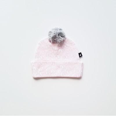 Anarkid Beanie Pom Pom Ice Pink
