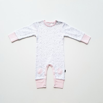 Anarkid Romper Paint Patch Ice Pink