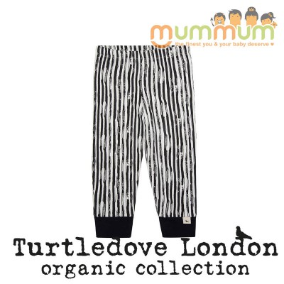 Turtledove London Painted Stripe Legging Organic Cotton