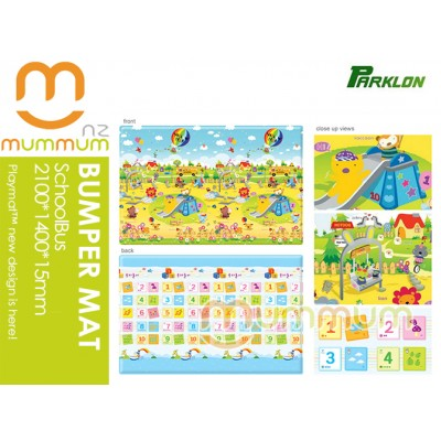 Parklon Bumper Playmat SchoolBus123 2100*1400*15mm