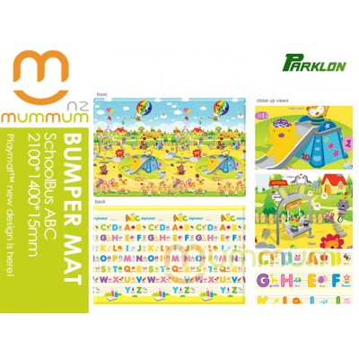 Parklon Bumper Playmat SchoolBusABC 2100*1400*15mm