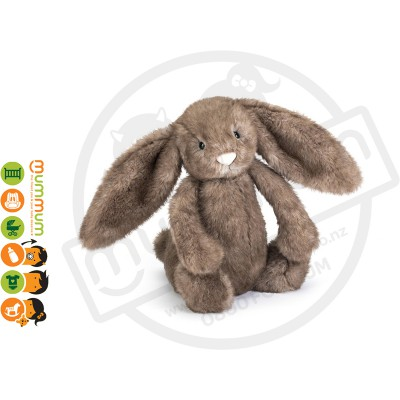 Jellycat Bashful Pecan Bunny Medium