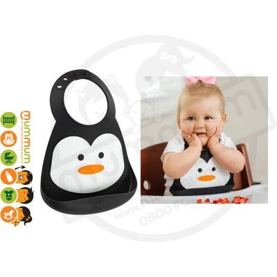 make my day Penguin Bib
