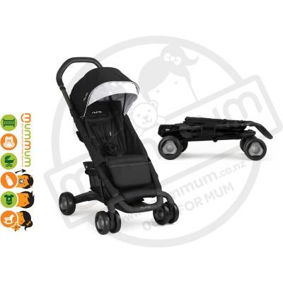 Nuna Pepp Luxx Stroller, 0mnths+ (Black Night)