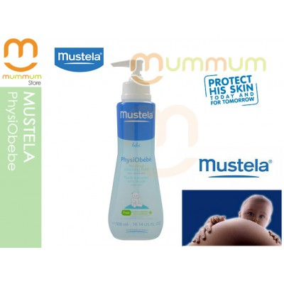 Mustela PhysiObebe 300ml with Pump