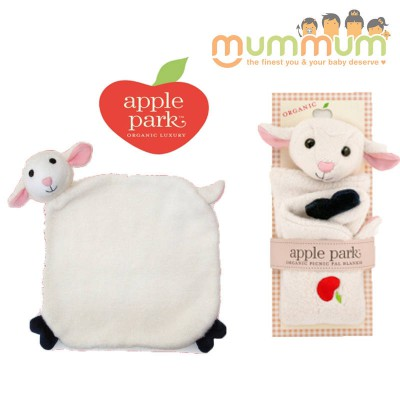 Apple Park Picnic Pal Blankie - Sheep/Lamby