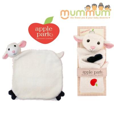 Apple Park Picnic Pal Blankie - Sheep/Lamby