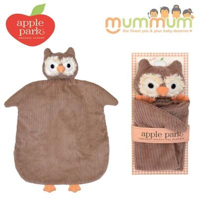 Apple Park Picnic Pal Blankie - Owl