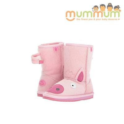 EMU Big Kids piggy pink size 12