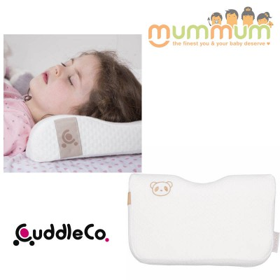 Cuddleco Toddler Pillow 12m+ Memory Foam Bamboo Cover Removable