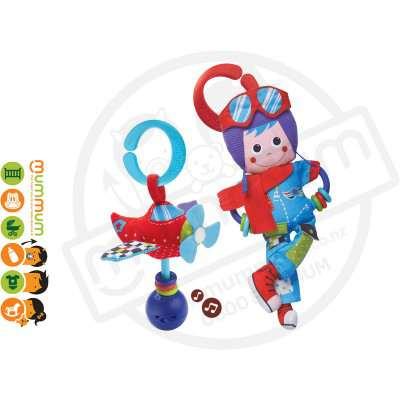 Yookidoo Pilot Play Set Musical Rattle&Hanging Toy 0M+