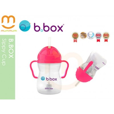 bbox Sippy Cup Pink Pomegrante