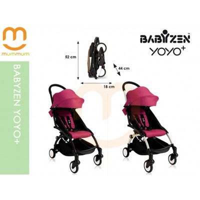 Babyzen YOYO+ 2017 Pink Colour Carry on Stroller