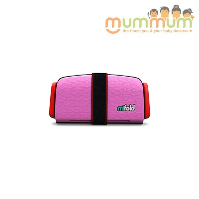 Mifold Travel booster Pink 4+