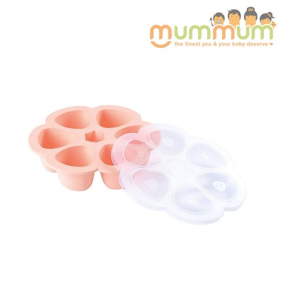 Beaba Silicone Multipurtions 6 X 90ml Pink Freezer Tray