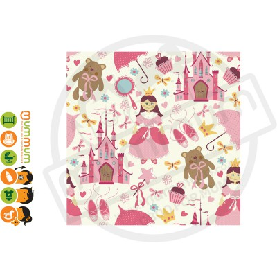 Little Shades Stick On Decals - Pink Princess