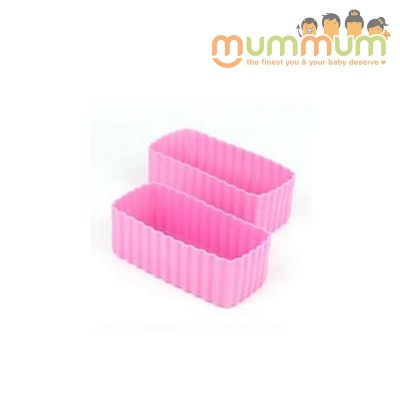 Little lunch box co cup rectangle pink