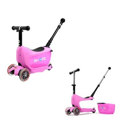 Micro Mini2go Deluxe Plus - Scooter Pink