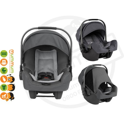 Nuna Pipa Baby Car Seat Graphite (stock with local supplier, shipping take 3-5 working days)