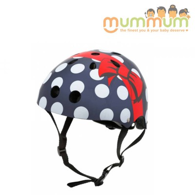 Mini Hornit Lid Kid Polka Dot Small 2-5Y 48-53cm