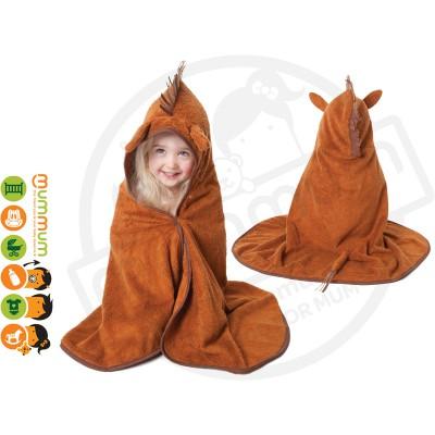 Cuddledry Cuddlepony Supersoft Toddler Bath Towel