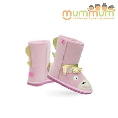EMU Big Kids pony pink Size11