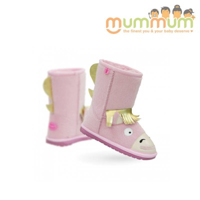 EMU Big Kids pony pink Size8