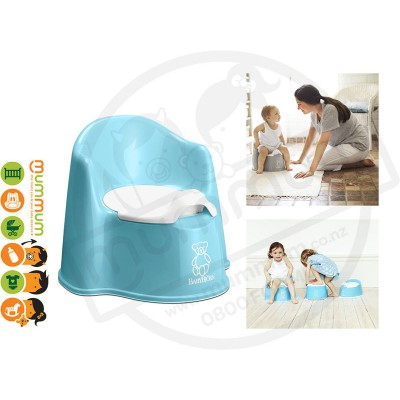 Baby Bjorn Potty Chair - Turquoise Blue