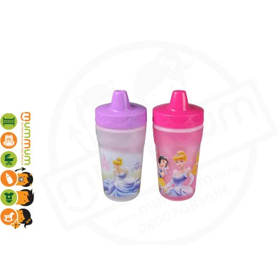 The First Years Princess Insulated Sippy Cups 9oz (2pk)