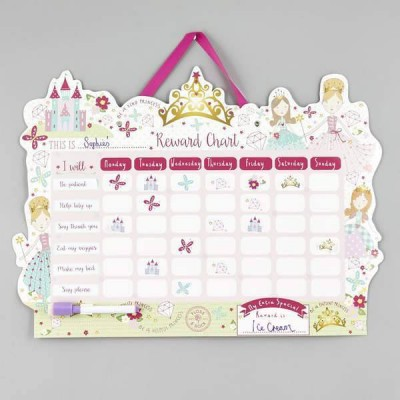 Floss & Rock Reward Chart - Princess