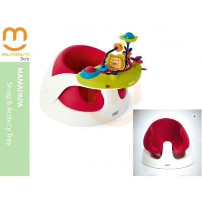 mama & Papas Snug floor support &Activity Tray Red