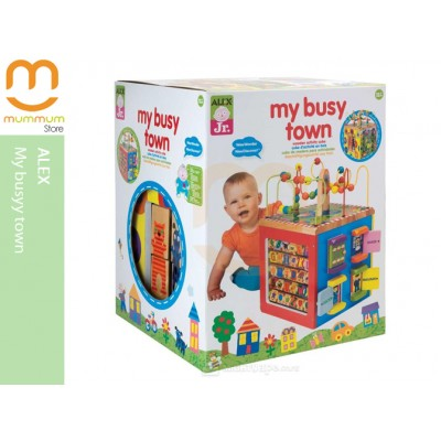 Alex Junior My Busy Town Activity Cube