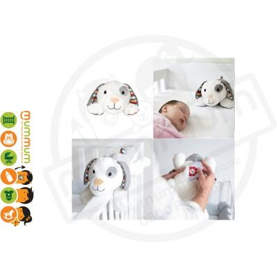 Zazu Dex Puppy Soft Toy Comforter With Heartbeat Sound
