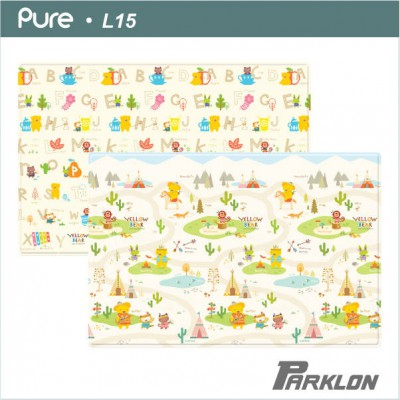 Parklon Pure Play Mat Yellow Bear Apache L15  1400*2100*15