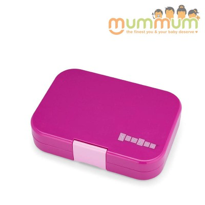 Yumbox Panino 4 compartment Malibu purple