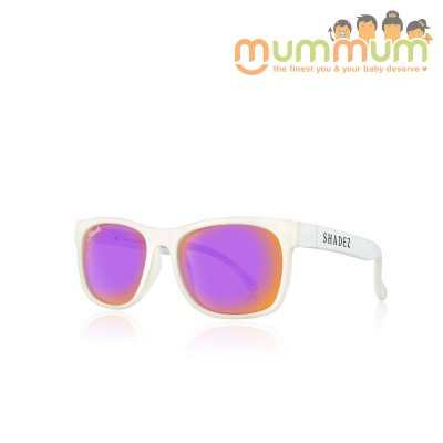 Shadez Junior White Purple Vip