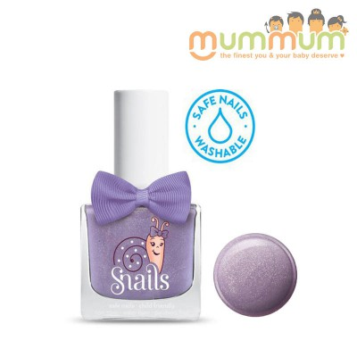 Snails Nail Polish Kids Safe Wshable - Purple Comet