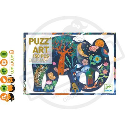 Djeco Puzz'art Elephant 150pcs 6Y+