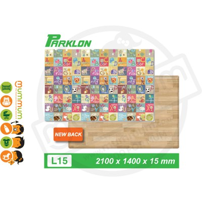 Parklon Bumper Playmat Animal A-Z  2100*1400*15mm