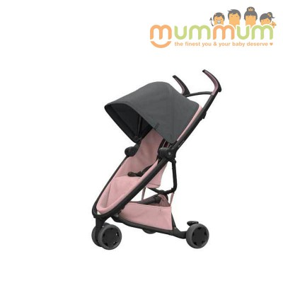Quinny Flex Stroller  Graphite on Blush