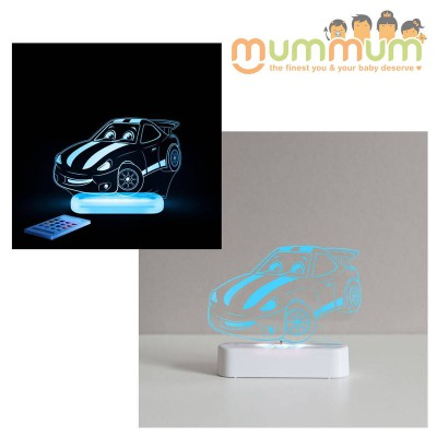 Aloka SleepLights Battery USB Race Car