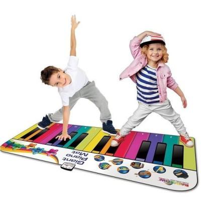 Rainbow Giant Piano Mat