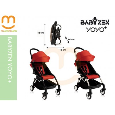 Babyzen YOYO+ 2017 Red Colour Carry on Stroller ETA End of Oct 2018