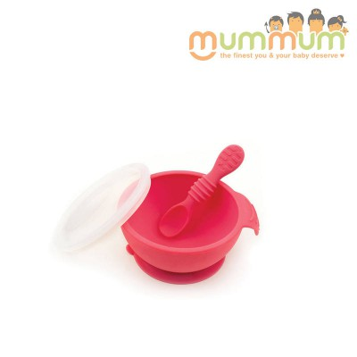 Bumkins First Feeding Set- Red